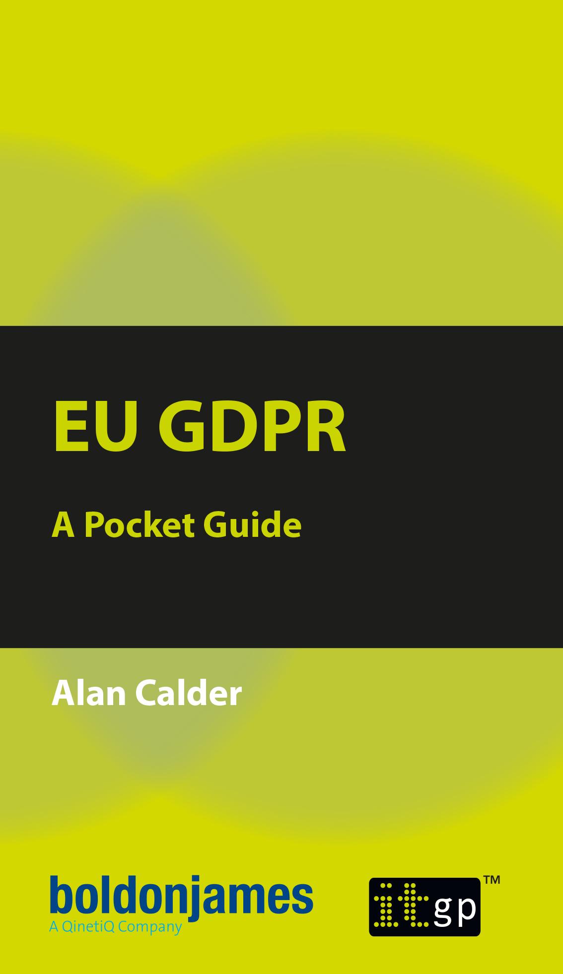 EU GDPR Pocket Guide